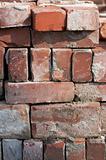 brick pile