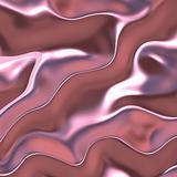 Glossy silk fabric