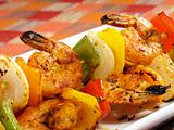 Sizzling Shrimp Kebabs
