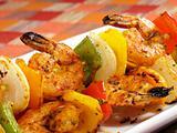 Sizzling Shrimp Kebabs