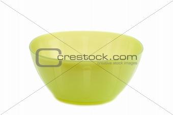 Green Plastic plates