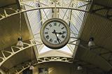 Hanging public clocks