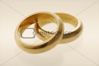 Old wedding rings