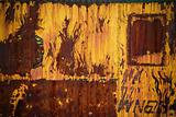 Rusty Metal and Paint Texture