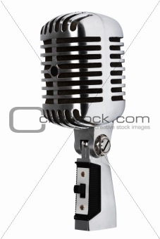 Beautiful old microphone