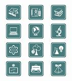 Education objects icons | TEAL series