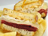 Reuben with Chips