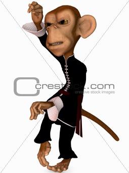 Toon Monkey-Kung Fu
