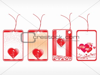 beautiful tags with love set 15