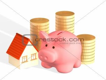 Money for purchase of habitation