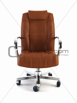 armchair for boss 3d rendering