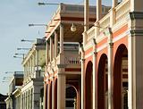 Colonial Buildings in Granada Nicaragua