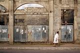 Woman on the Street in Granada Nicaragua