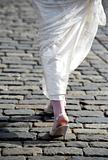 Legs of the bride
