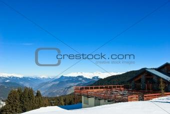 Ski resort chalet