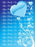 friendship day series with heart and floral, banner 23