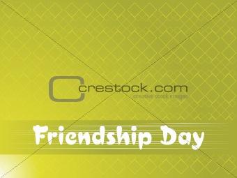 green friendship day background, wallpaper