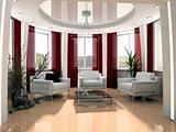 modern drawing room