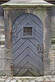 Old church door.