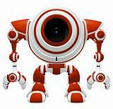 Small Robot Standing Up