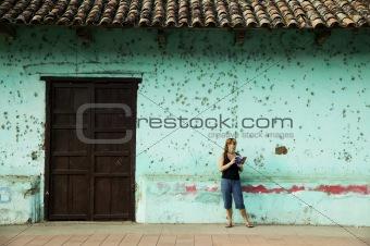 American Tourist in Granada Nicaragua