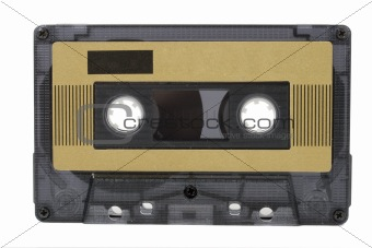 Audio cassette (tape) isolated