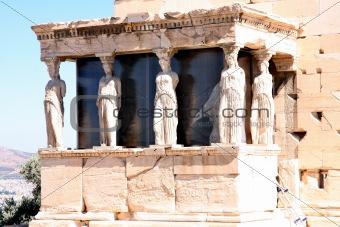 Caryatids, Acropolis in Athens