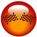 checkered flag icon