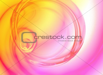 Abstract Liquid Swirl