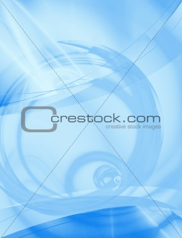 Abstract Blue Layout