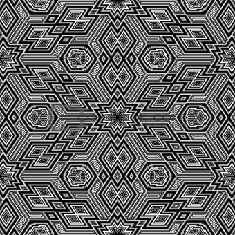 sl 3d retro pattern