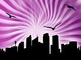 City starburst