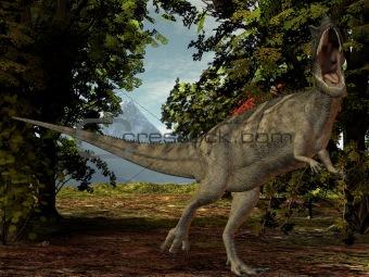 Ceratosaurus nasicornis-3D Dinosaur