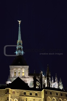 Tower of Le Mont St Michel