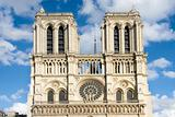 Notre Dame Cathedral in Paris city