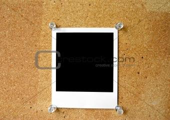 blank polaroid