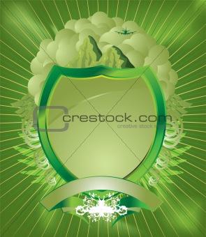 pale green shield