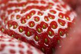 Macro of Strawberry