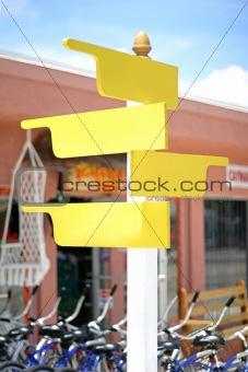 Crossroad post