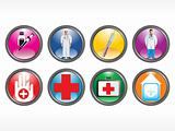 vector medical icon series web 2.0 style set_6