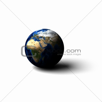 Earth on surface
