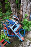 Discarded Chairs in Nicaragua