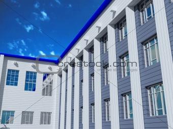 Modern urban architecture