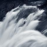 white water (small waterfall) background