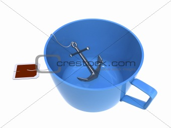 Anchor in a cup