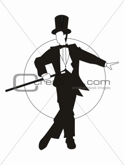 magician dancing