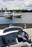 Yacht deckhouse