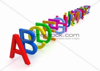 Alphabet # 1
