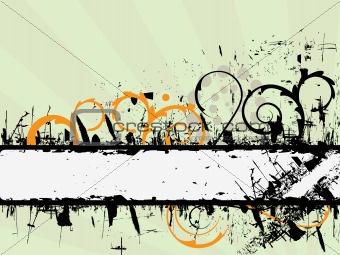Grunge banner background