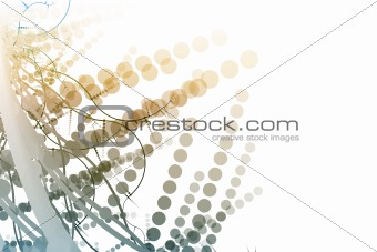 Abstract Billboard Background With Copyspace